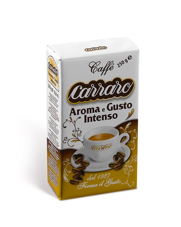Carraro Caffe Aroma e Gusto Intenso 250 G