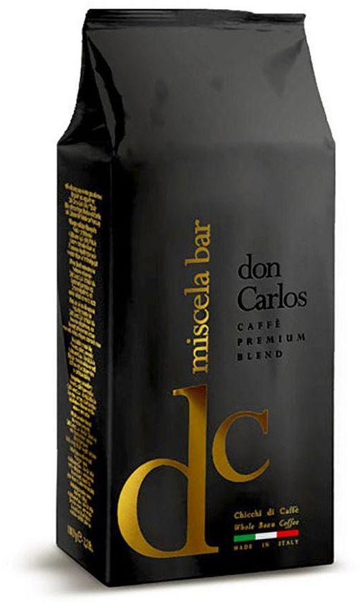 Carraro Caffee Espresso Don Carlos Whole Beans 1000 G