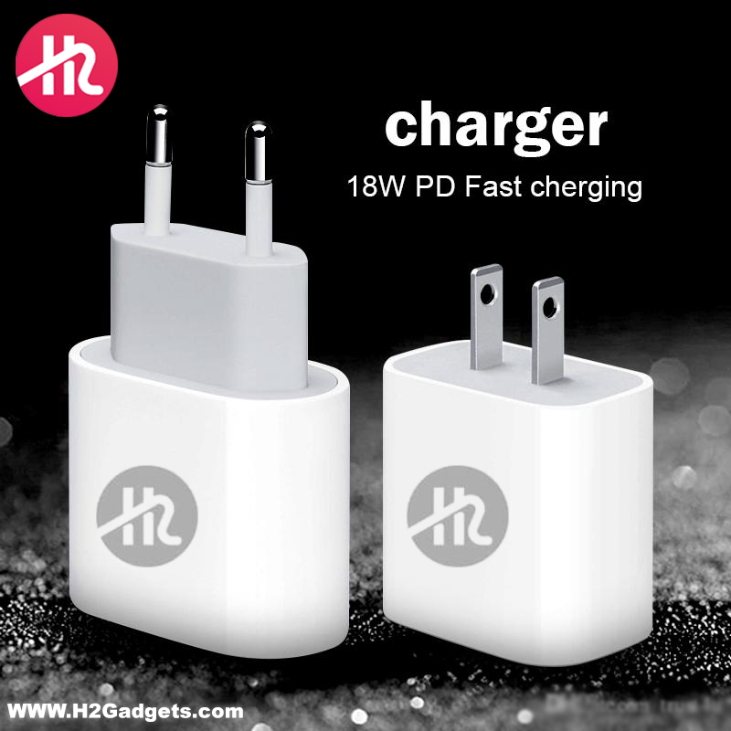 H2 Gadgets PD Charger 18W H2-CH-02-PD