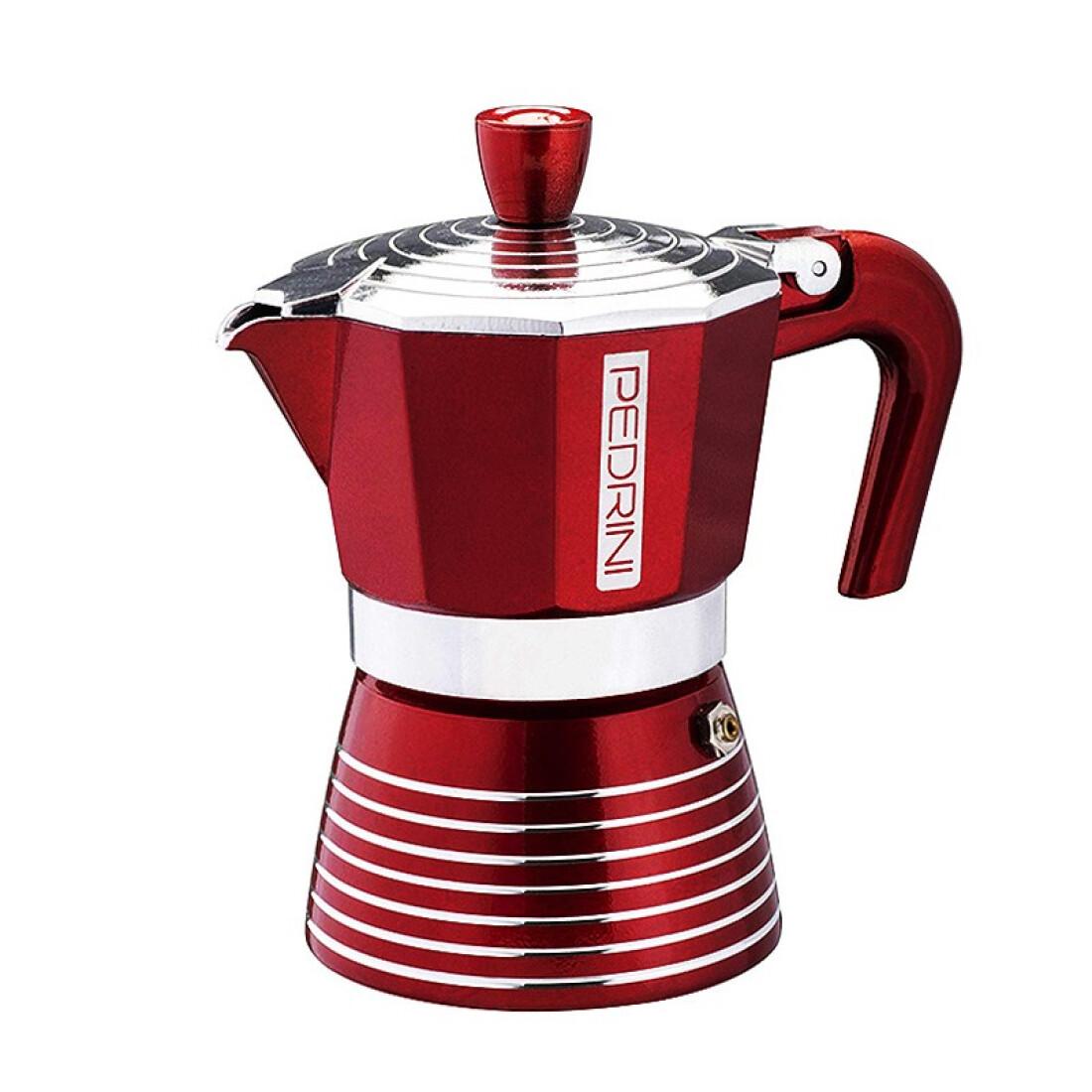 Pedrini Infinity Moka Pot 6 Cup