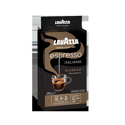 Lavazza Espresso Ground Coffee Italiano Classico 250gm