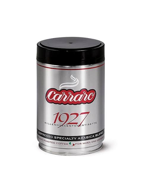 Carraro 250G 1927 ESPRESSO SPECIALTY ARABICA GROUND COFFEE