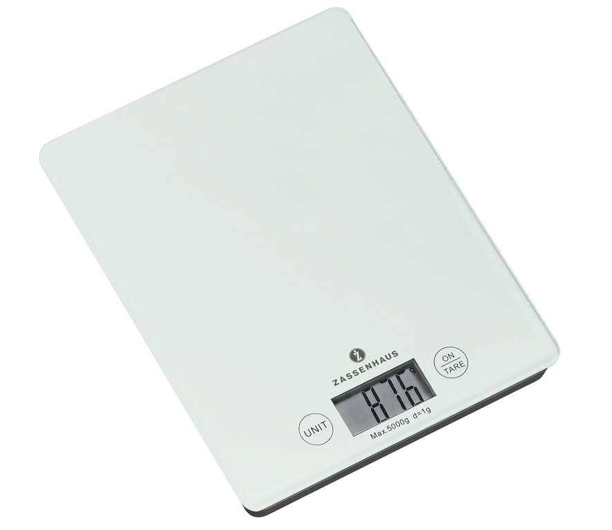 "Zassenhaus – Digital Scale ""Balance"" white"
