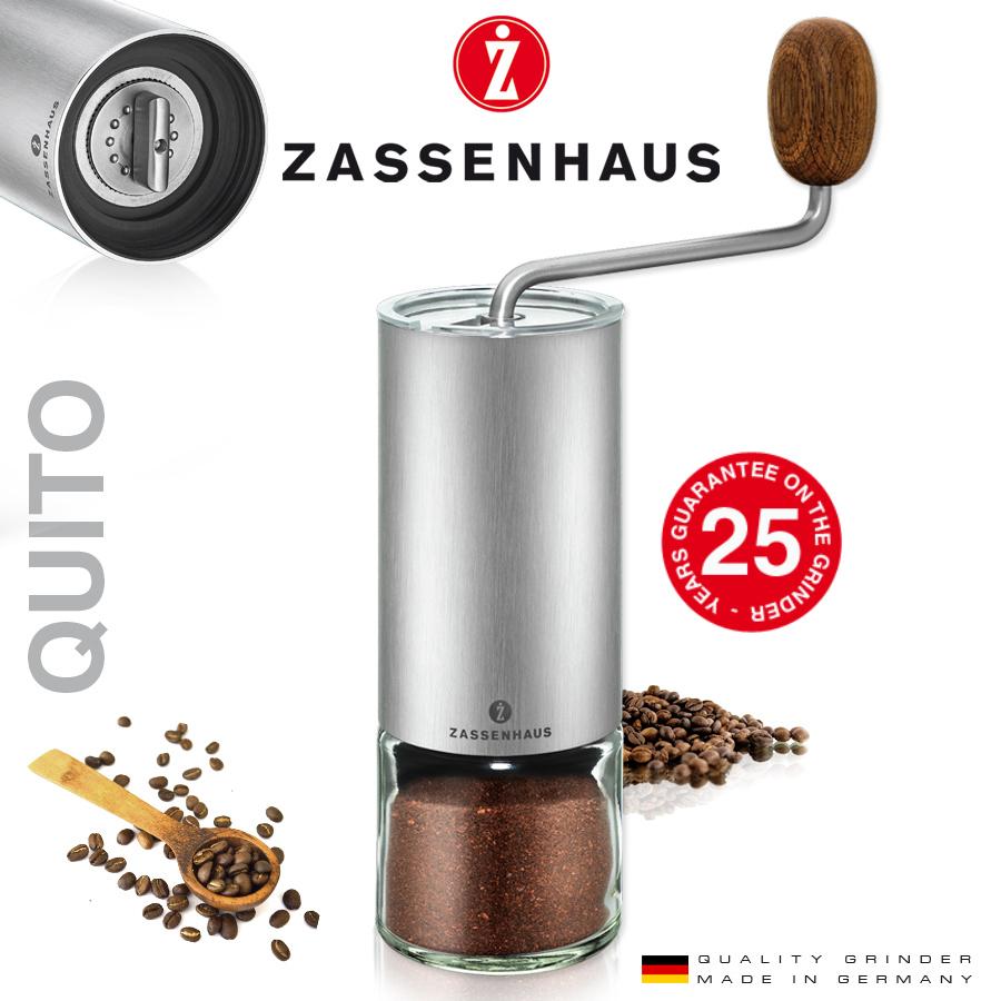 """Zassenhaus Espresso mill Grinder""""Quito"""""""
