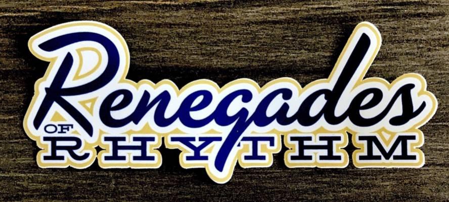 Renegades Window sticker (6' vinyl)