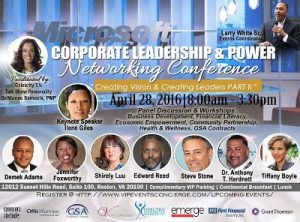 3rd Annual Corporate Leadership & Power Networking Conference