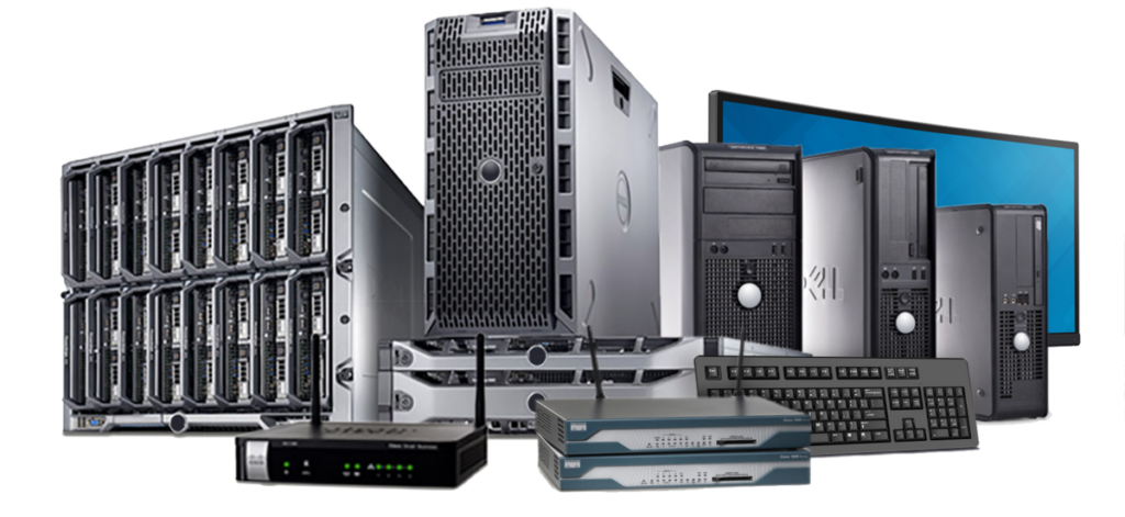 asset removal and recovery services buy used IT equipment