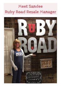 Sandee Manager of Ruby Road
