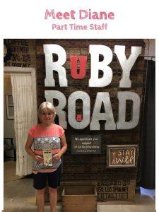 meet Diane at Ruby Road