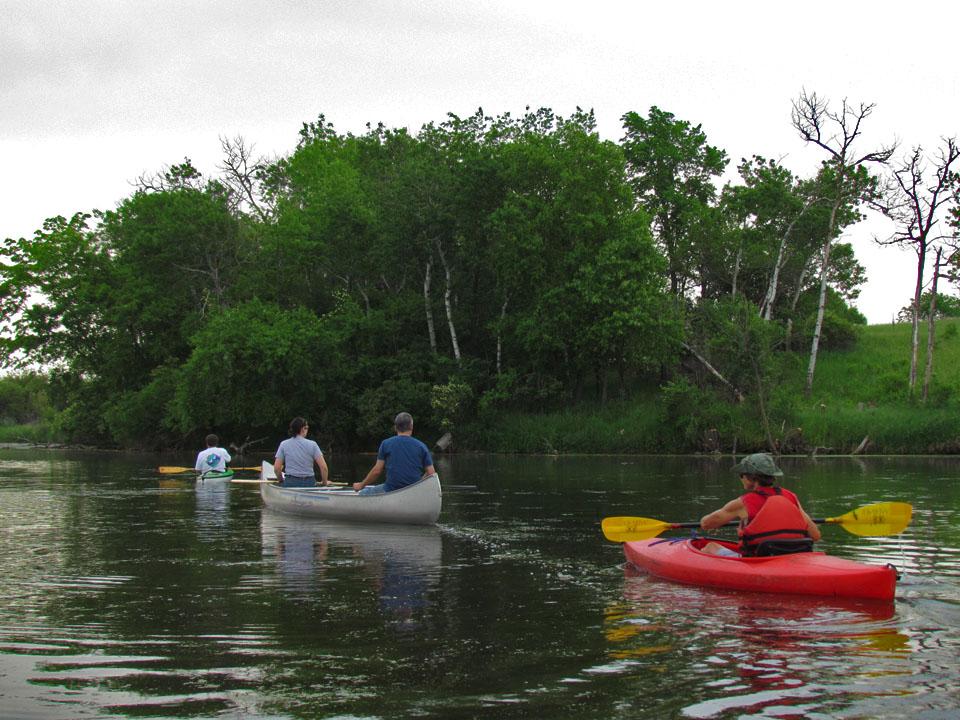 Canoe-kayak trip12 6-4-11 PoolsHill1