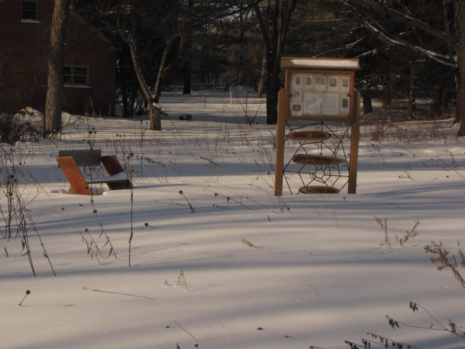 Forest Ave Conservancy winter view 2-11-10
