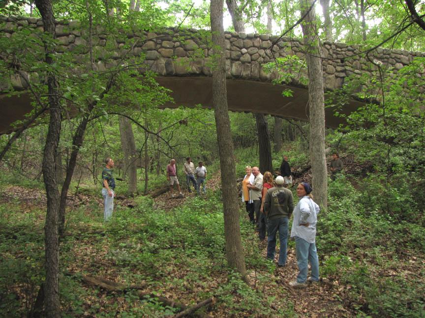 GLCC Conservancy Winnebago tr - stone bridge 7-3-09