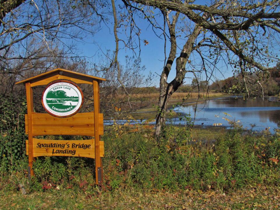 Spaulding' Bridge 10-12-12 sign2