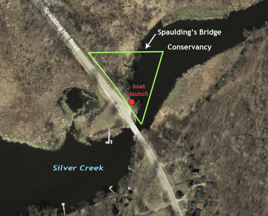 Spaulding's Bridge map 7-8-14