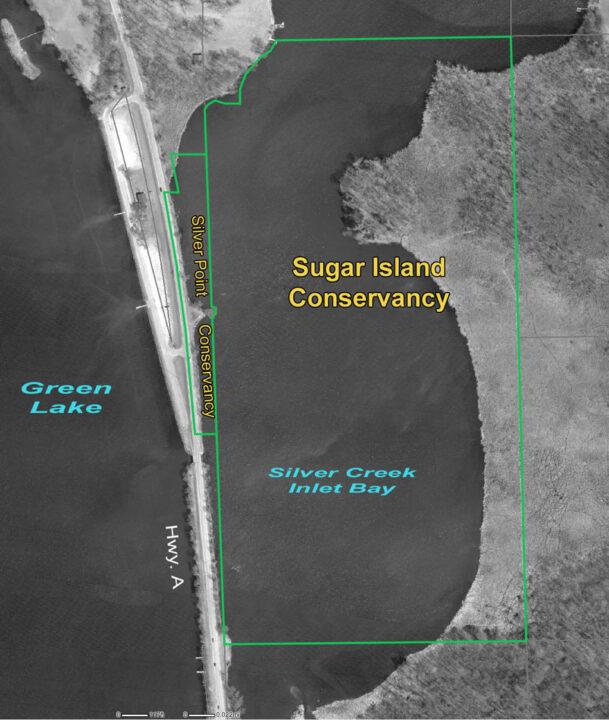 Sugar Island conservancy map AA