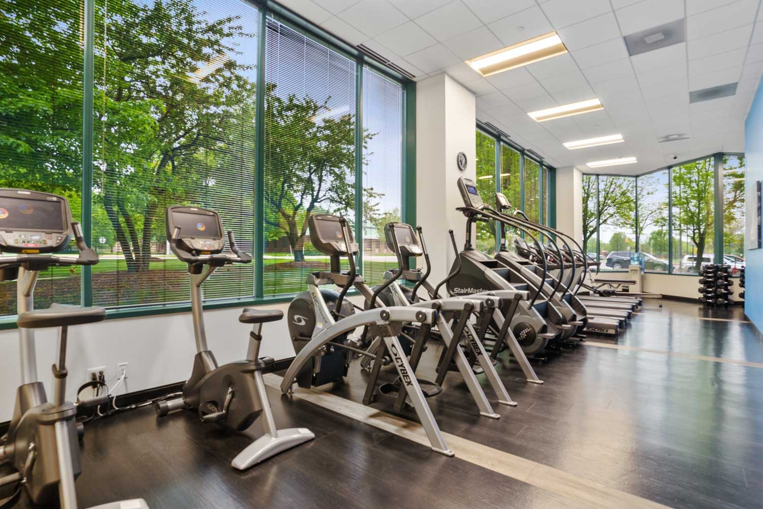 Office Base Chicago On-Site Fitness Center