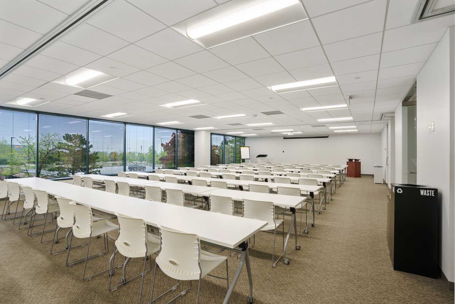 Large Conference Room at Office Base in Schaumburg, IL