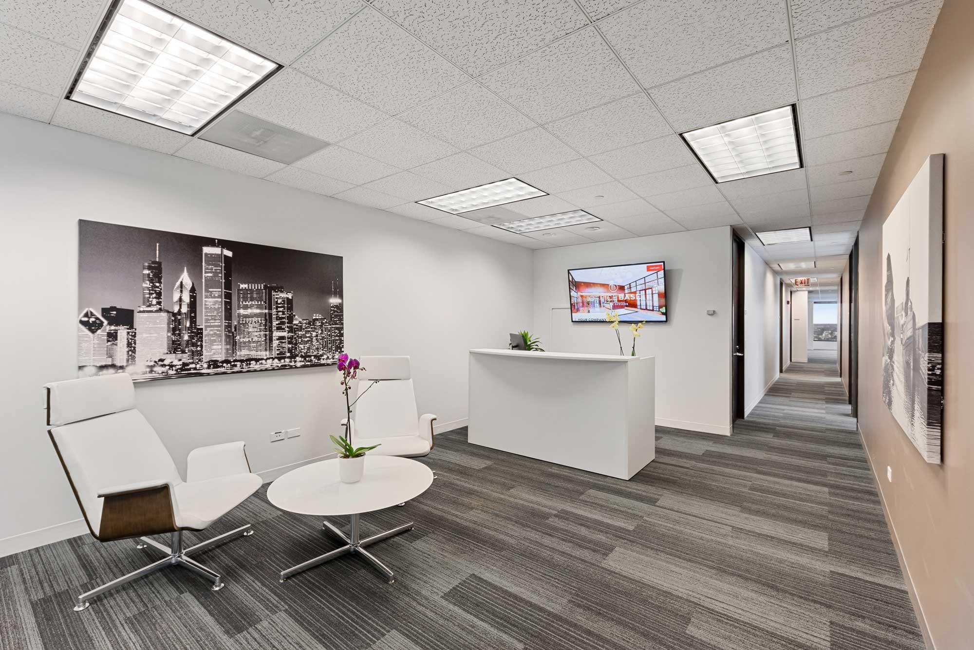 Office Base Reception Area