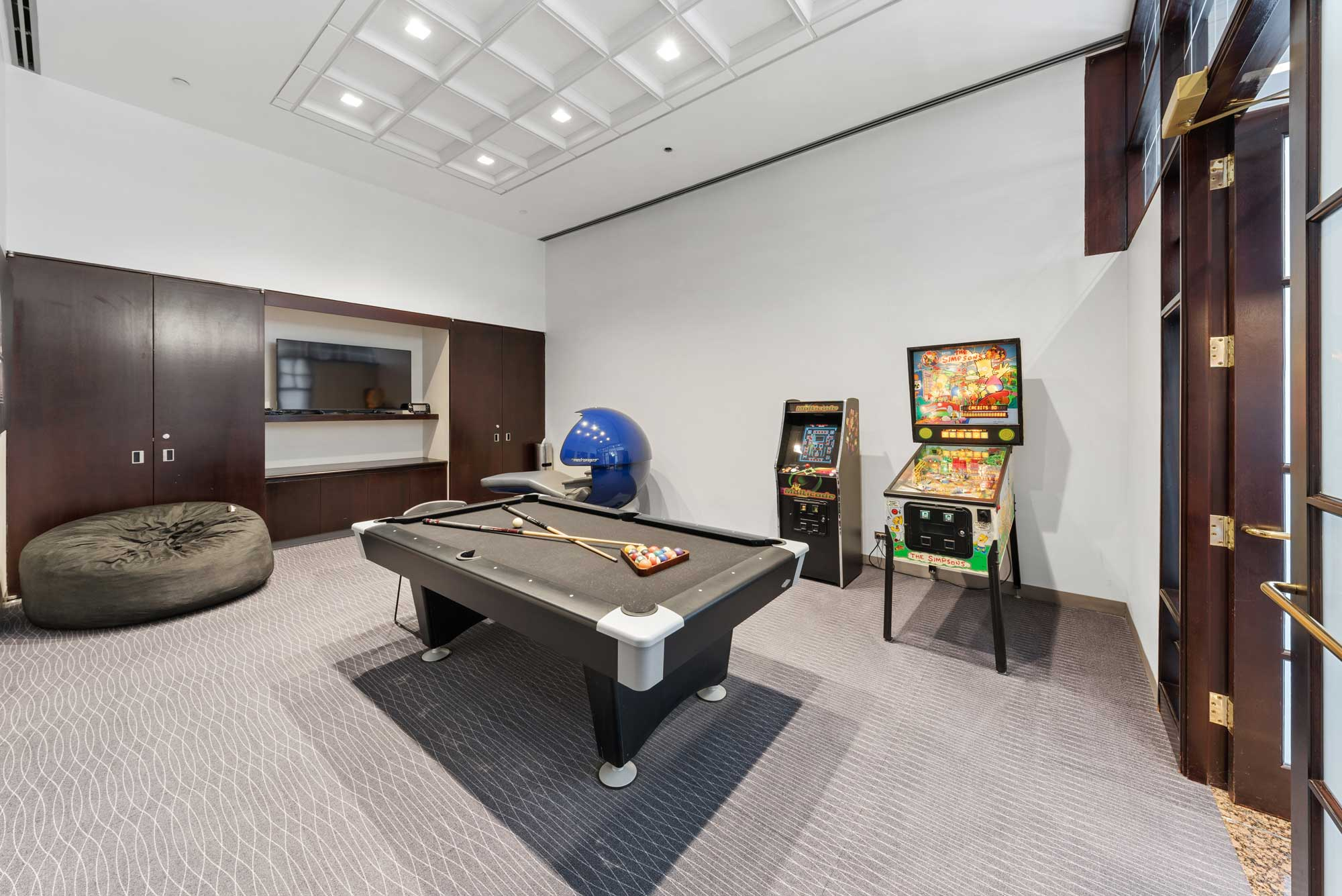 Pool Table & Game Room at Office Base in Schaumburg, IL