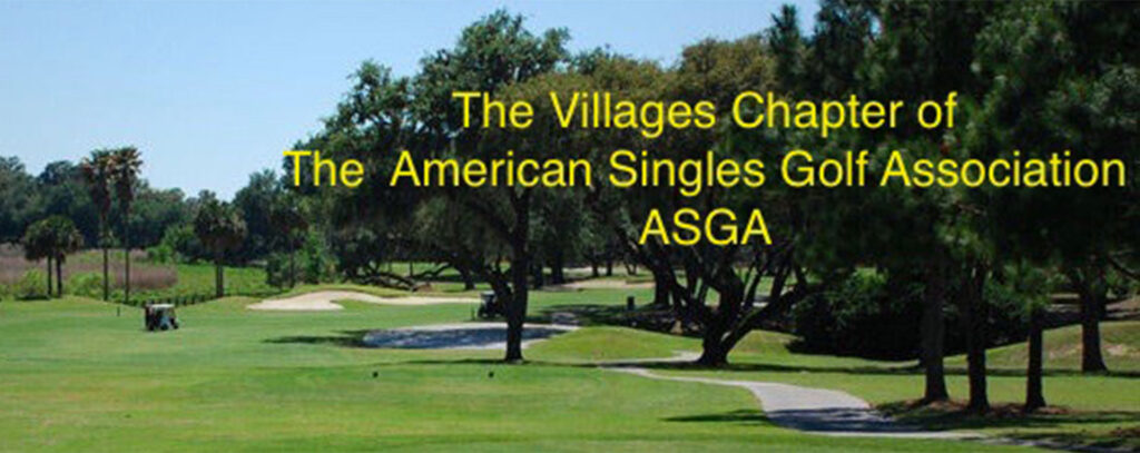 ASGA - AMERICAN SINGLES GOLF ASSOCIATION