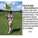 Donna Bulthius Hole in One