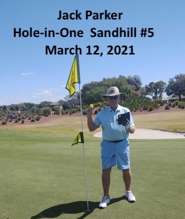 Jack Parker Hole in One