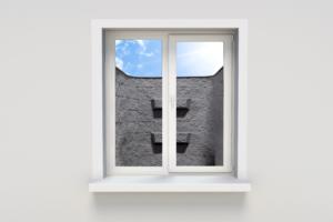 Block-Tex Egress Window Well Installed