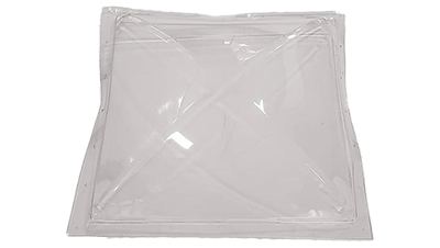 "Shape Products 24"" width by 24"" height clear skylight by shape products"