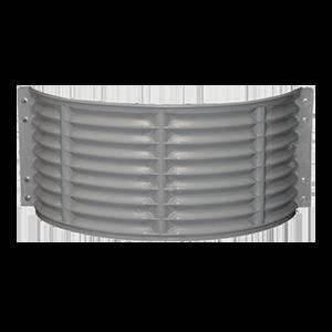 Round Plastic Well