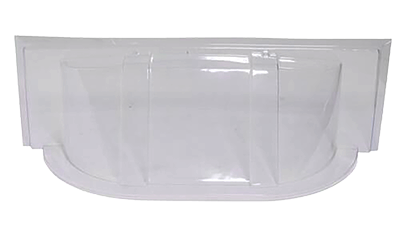 Shape Products Straight economy bubble window well cover by shape products