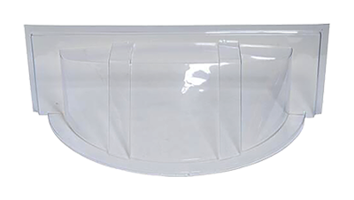 Shape Products Round economy bubble window well cover
