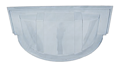 Shape Products Economy round bubble window well cover by shape products