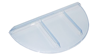 Shape Products Economy round window well cover by shape products