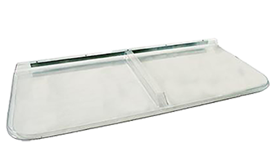 Shape Products Premium Square Flat Polycarbonate Window Well Cover
