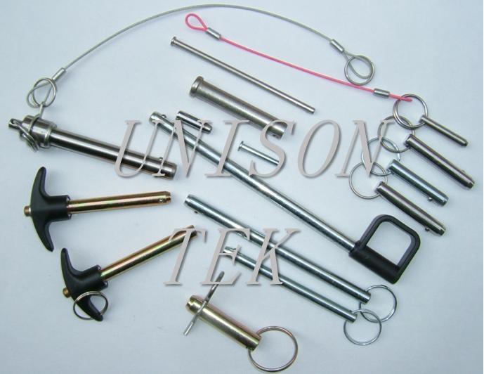 Metal Pins Manufacturer Detent Pins Ball Lock Detent Pins Clevis Pins Safety Pins