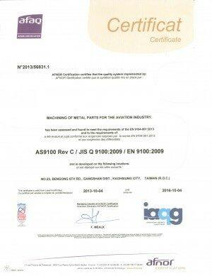 as9100-certificate