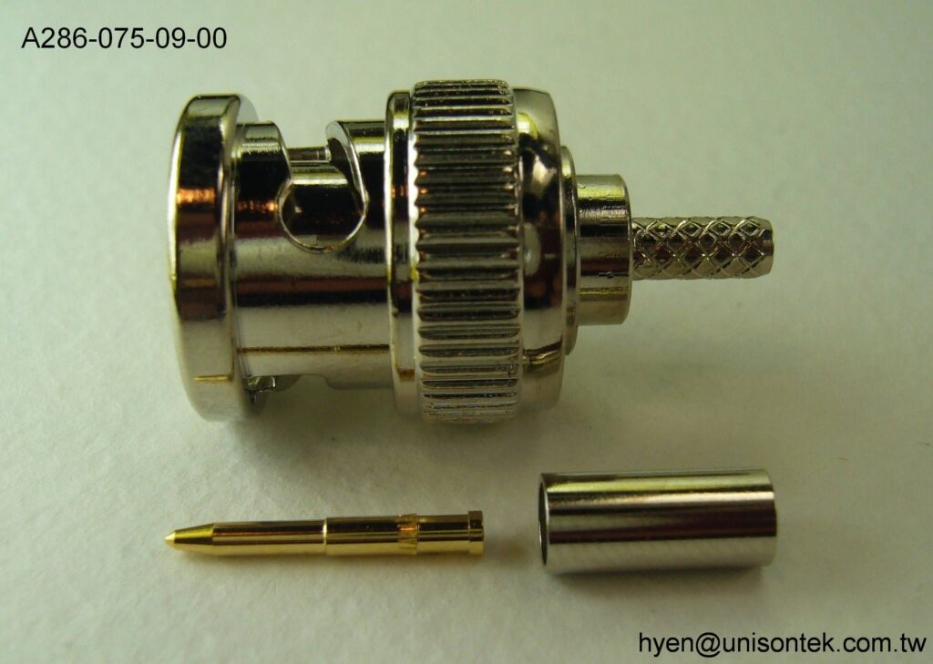 BNC004-PLUG for RG174 connector