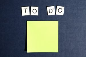 create a schedule to-do