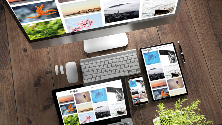Tips for Creating an Online Portfolio in College