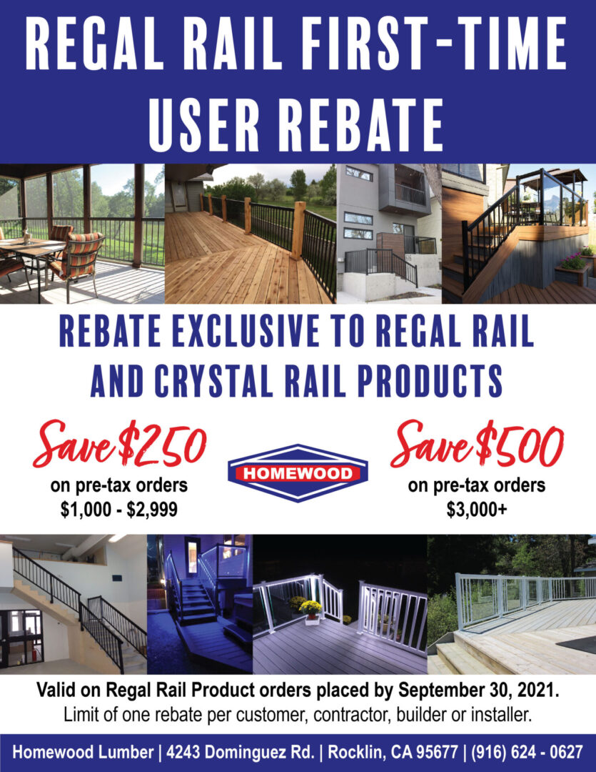 Valid on Regal Rail orders placed through 09/30/2021.