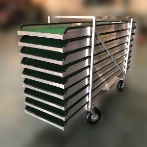 cart express portable mini golf course mobile putt putt 300