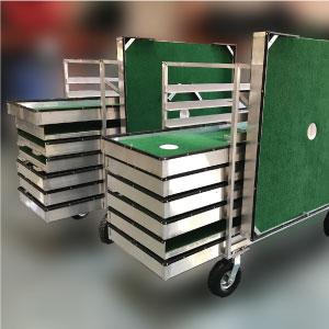 carts portable mini golf course mobile miniature putt putt 2000