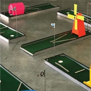 express 9 hole portable mini golf mobile putt putt 100