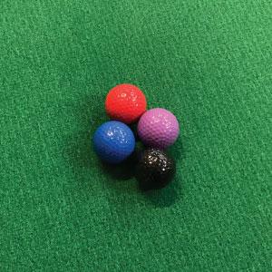 golf balls portable mini golf course mobile putt putt