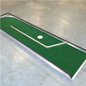 hole 1 portable mini golf course mobile miniature putt putt
