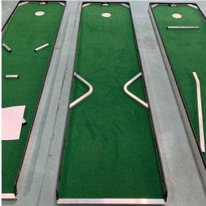 hole 11 portable mini golf course mobile miniature putt putt