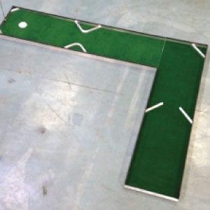 L-hole 3 classic portable mini golf course mobile miniature putt putt