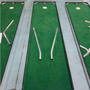 hole 3 portable mini golf course mobile miniature putt putt