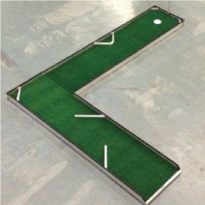 L-hole 5 classic portable mini golf course mobile miniature putt putt