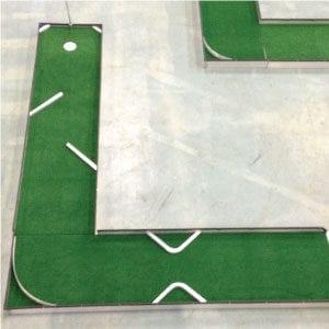L-hole 6 classic portable mini golf course mobile miniature putt putt